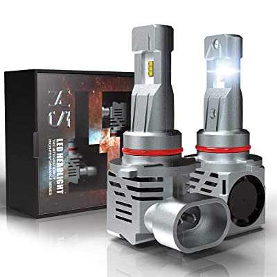 9005 HB3 LED Headlight Bulbs, CAR ROVER 55W 10000Lumens Plug-N-Play Extremely Bright 6500K ZES Chips Conversion Kit: Automotive