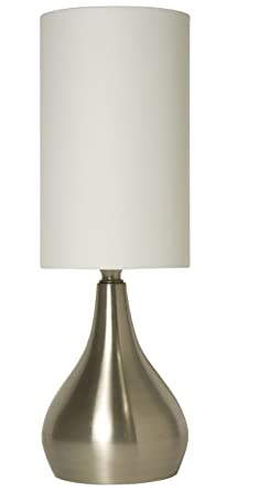 Light Accents Touch Table Lamp Modern 18u0026quot; Tall With 3 Stage Touch  Dimmer And