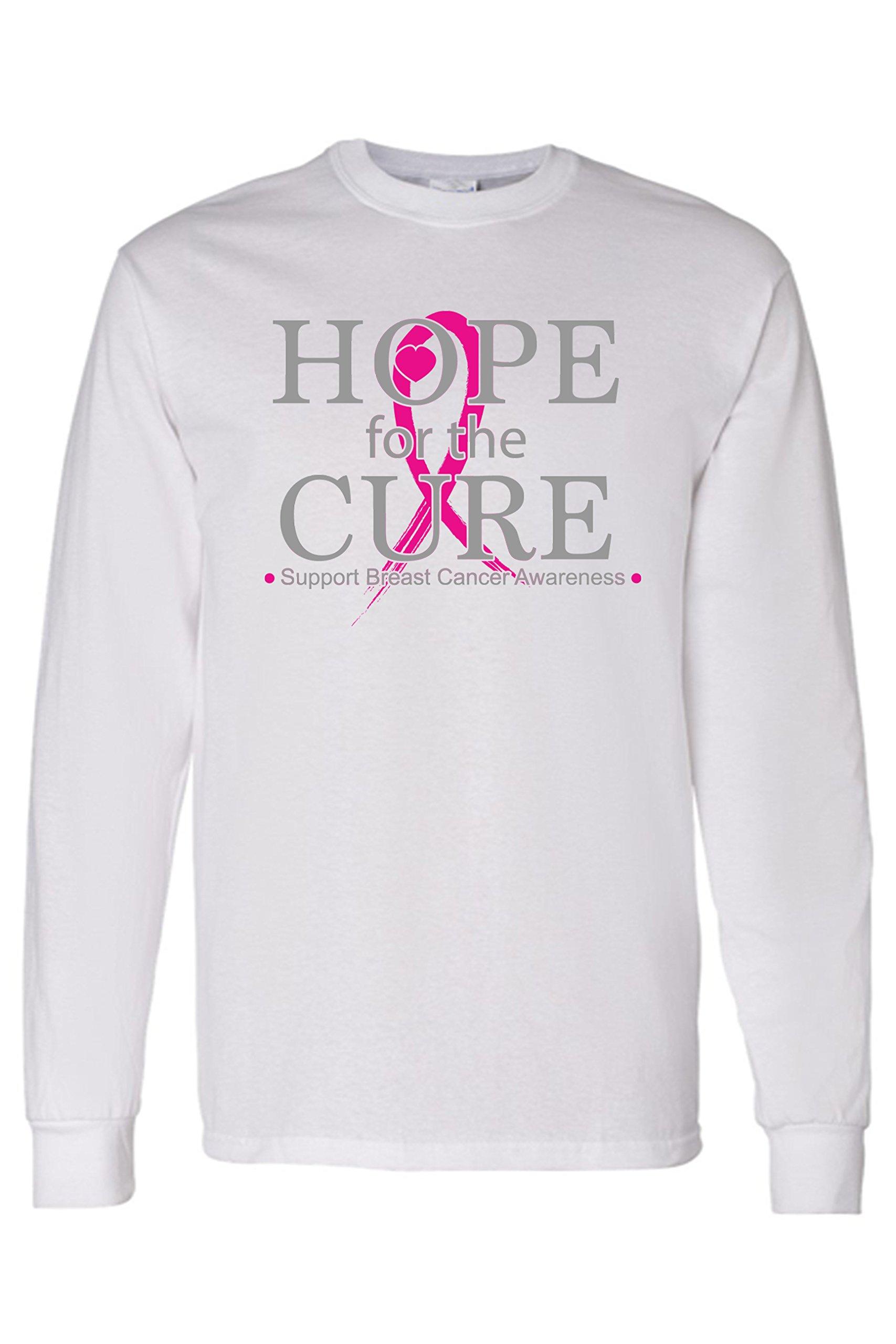 Shore Trendz S Unisex Hope For The Curebreast Cancer Awareness Shirt