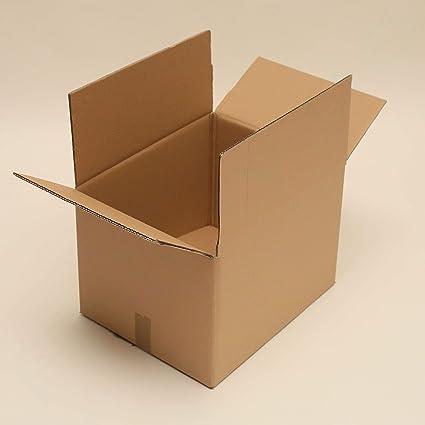 100 cajas (400 mm x 300 mm x 200 mm/1 eje). Caja Caja de cartón ...