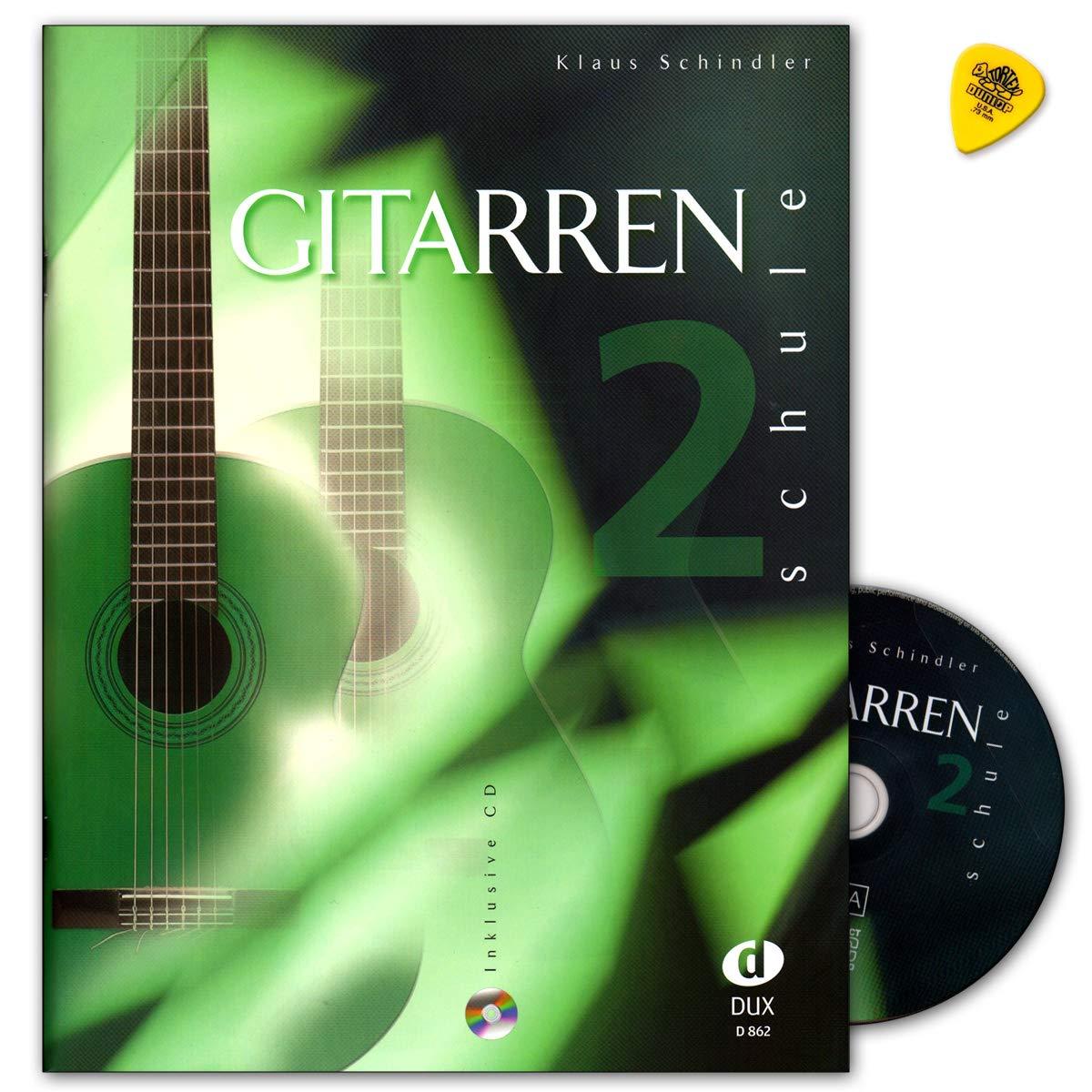 Guitarra Escuela banda 2 con CD - Autor Klaus Schindler - Verlag ...