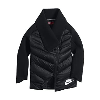 4a4d80ee89aa Amazon.com  NIKE Youth Girls Sportswear Tech Fleece Aeroloft Jacket ...