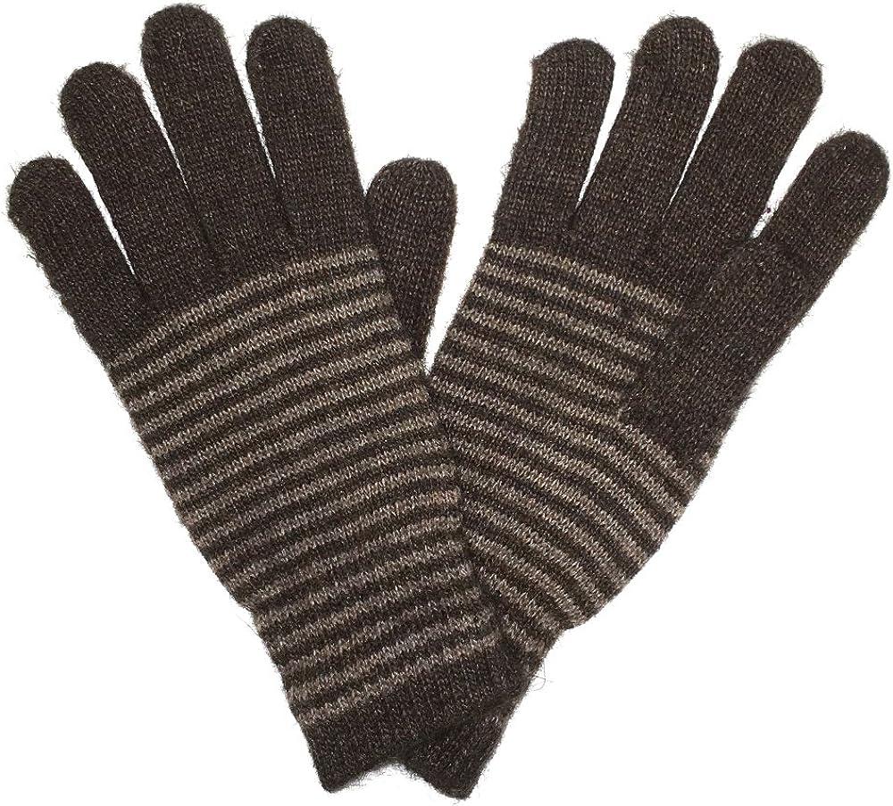 LL Unisex Warm Striped Knit...