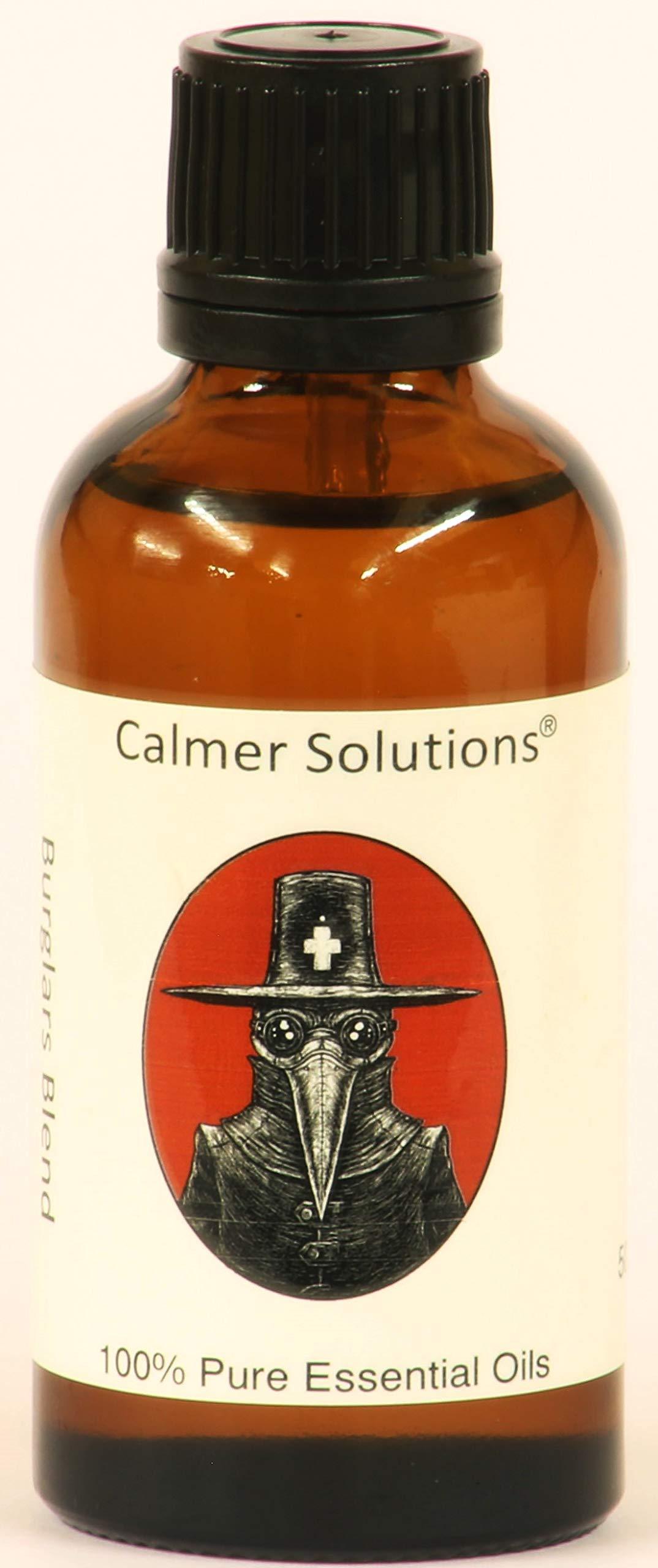 Calmer Solutions Burglars Oil Blend 50ml