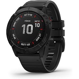 Garmin Fenix 6 Pro, Premium Multisport GPS Watch, Features Mapping, Music