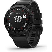 Garmin fenix 6X Pro, Premium Multisport GPS Watch, Features Mapping, Music, Grade-Adjusted… photo