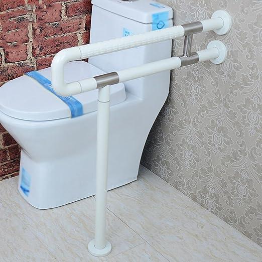 QFF Armlehne Nylon mit Beinen Barrierefreies Bad Toilette Badezimmer Becken Handlauf Alter Mann Behinderte Menschen Armlehne Farbe : Gelb, gr/ö/ße : 60