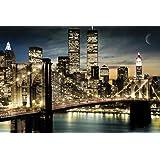 GB Eye Manhattan Lights Poster