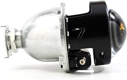 Morimoto Mini H1 7.0 LHD Bi-Xenon proyector luz: Amazon.es: Coche ...