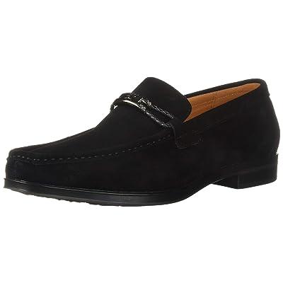 STACY ADAMS Men's Neville Moc-Toe Slip-on Penny Loafer | Shoes