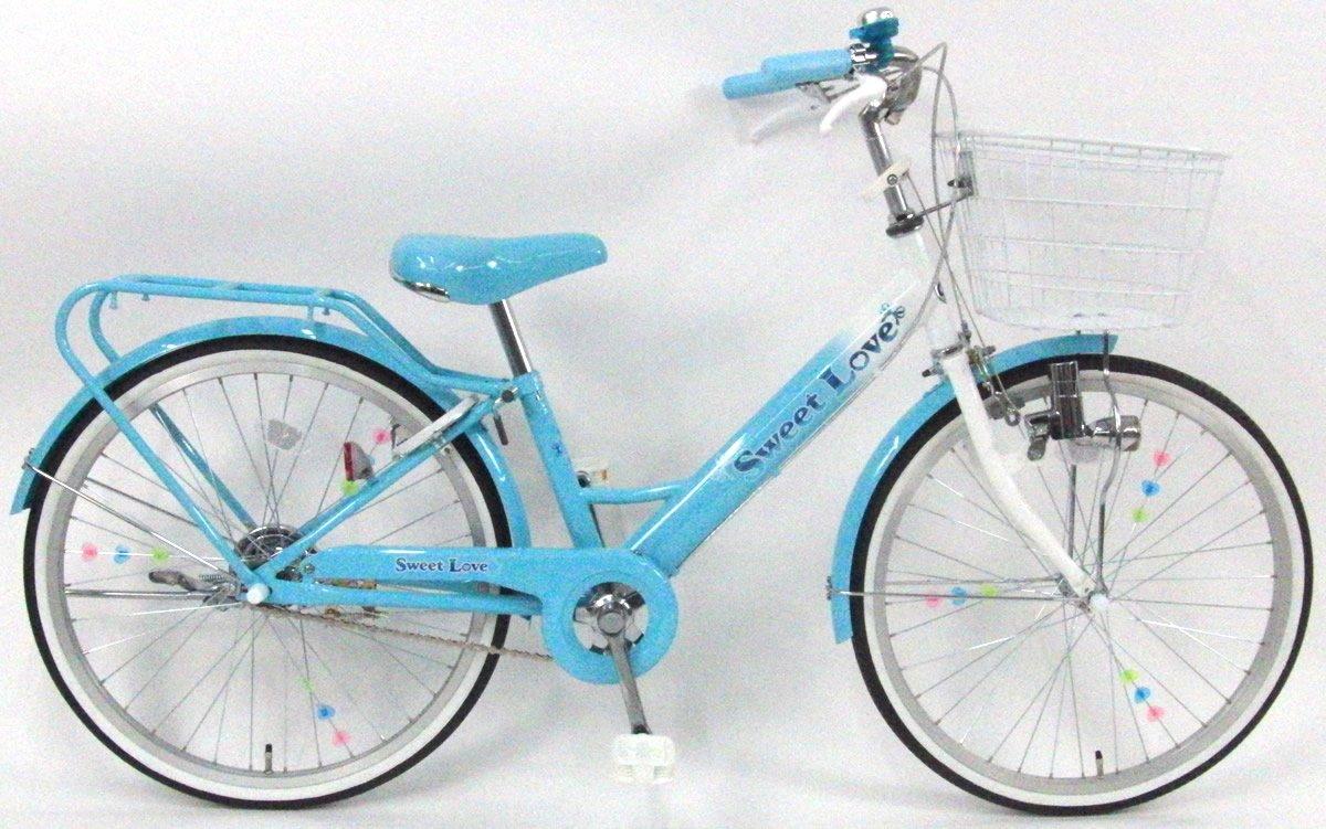 C.Dream(シードリーム) スイートラブ SW21 22インチ 子供自転車 ブルー 100%組立済み発送 B07D75P9M5