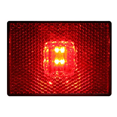 Grand General 78381 Red Sealed 4-LED Marker and Clearance Light: Automotive