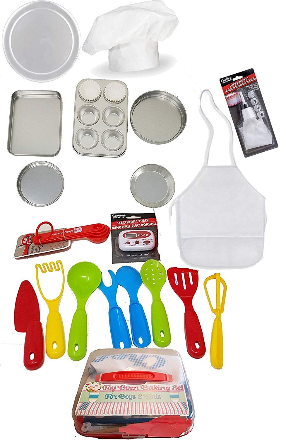 Kids Cooking Easy Oven Set Ultimate Kit Baking Pieces Will fit Easy Bake Toy Baking Ovens
