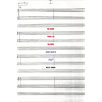 "No Such Thing as Silence: John Cage's 4'33"" (Icons of America)"