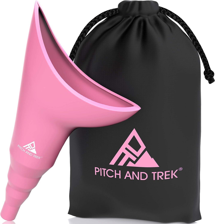 Pitch and Trek® - weibliches Urinal - kinderleichtes