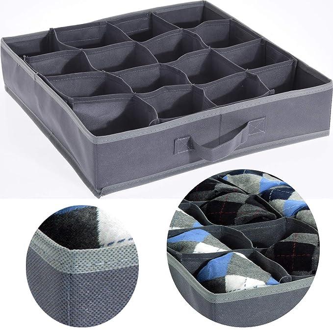 Ls Lebenstil Schubladen Organizer Aufbewahrungs Box Grau 40x40x9cm