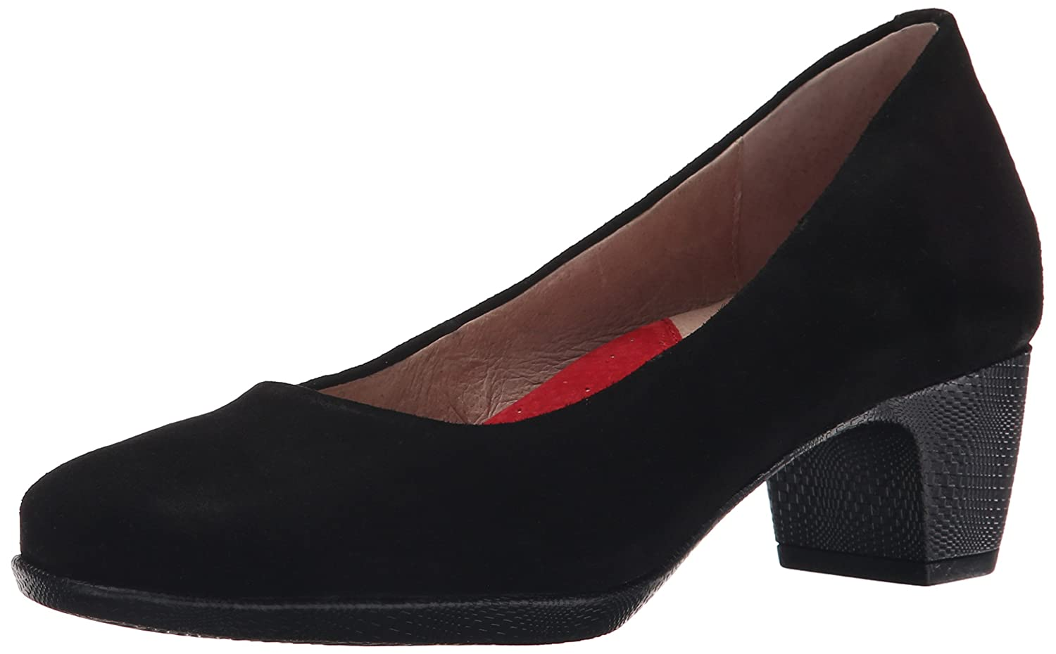 SoftWalk Women's Imperial Dress Pump B00S031IV4 7 W US|Black Suede