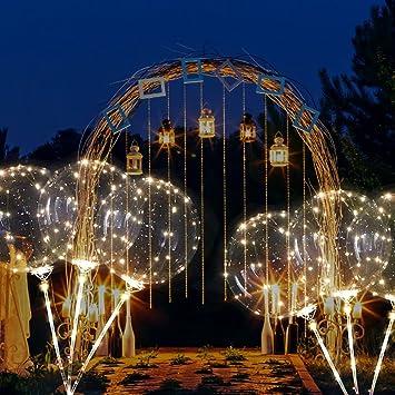 Amazon.com: Globo de 18 pulgadas de alambre de cobre, luz ...