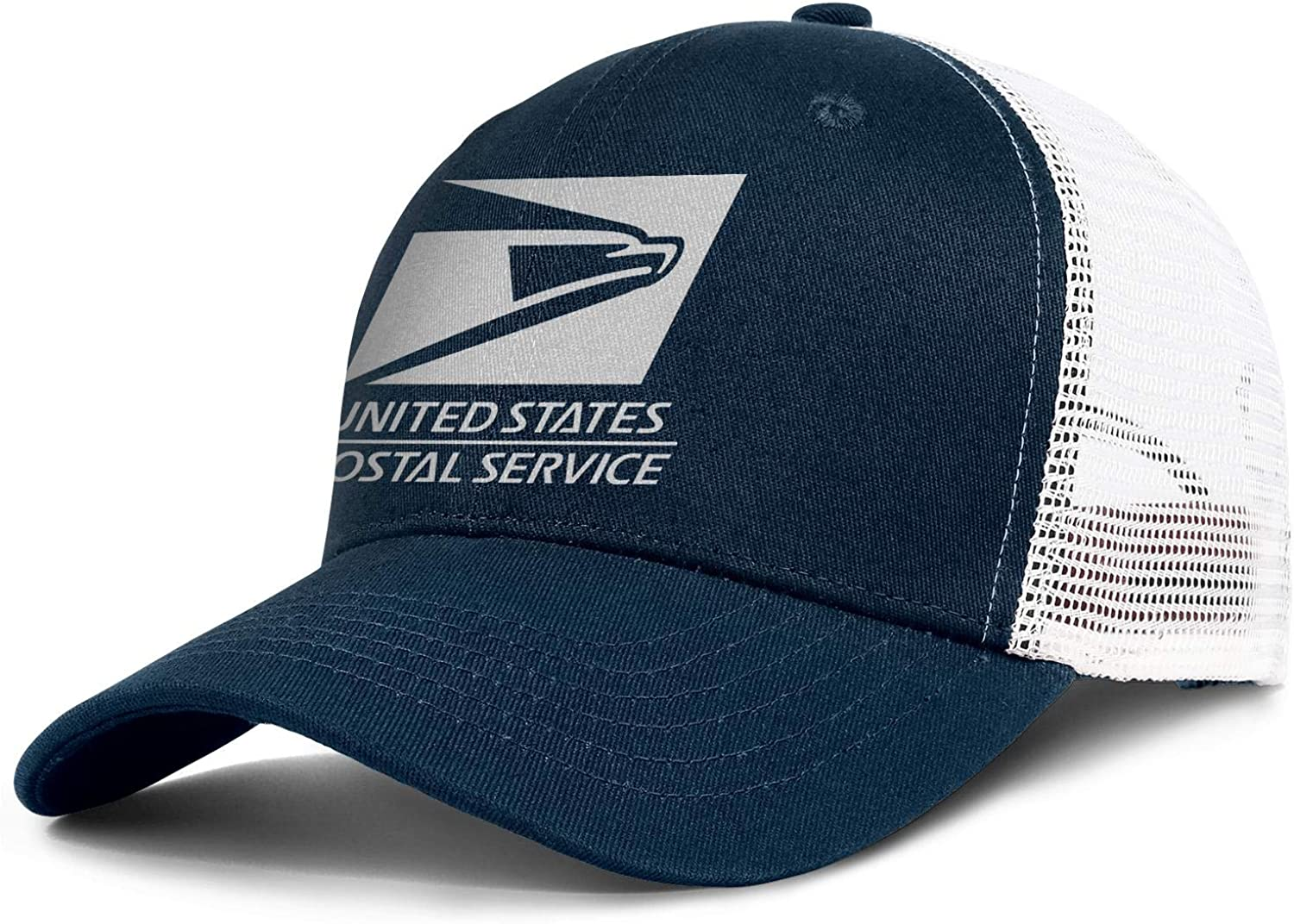 Men Women Postal Hat United States Service Eagle Adjustable Cap Dad Trucker Hat Cap