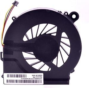 PartEGG CPU Cooling Fan Replacement for HP Pavilion G7 G6 G4 G42 G56 G62 CQ42 CQ56 CQ62 G4T G6T G6Z G7T G4-1000 G6-1000 G7-1000 TPN-Q68C TPN-Q72C Q73C 646578-001 KSB06105HA