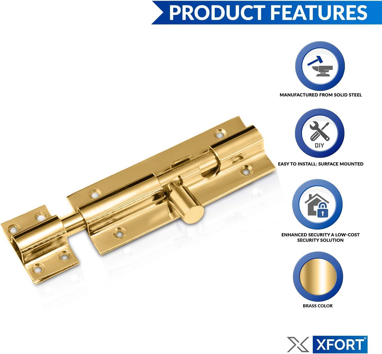 Rivets en Plastique 100pcs de Pare-Chocs pour Pare-Chocs de Porte de Voiture de 6mm ZOZOSEP Clips de Fixation