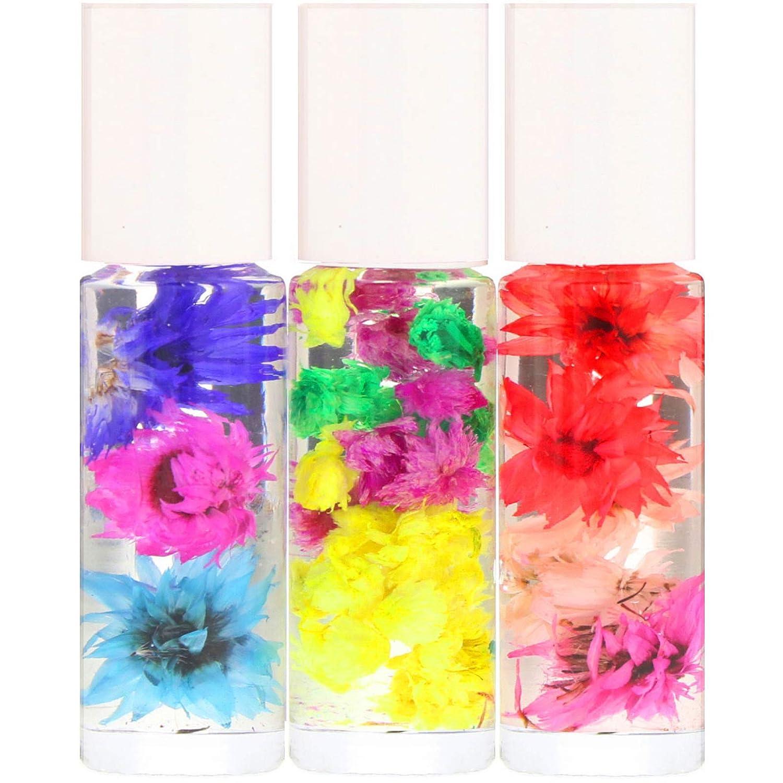 Blossom Roll-On Perfume Oil Set 3 Pieces 0 1 fl oz 3 ml Each