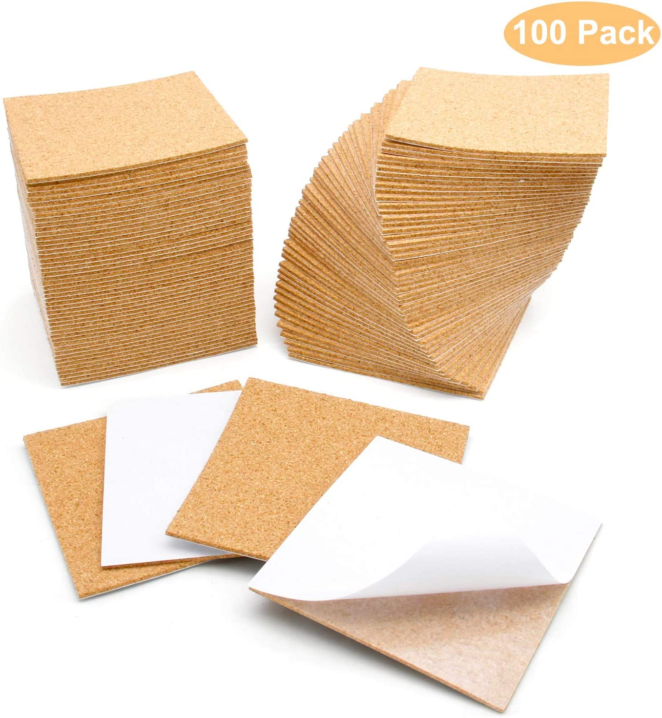 "4/'  x 4/' x 1//4/"" CORK ROLL custom cut tile bulletin board sheet wall"