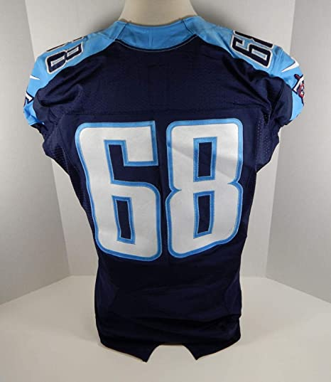 2015 Tennessee Titans #68 Game Issued
