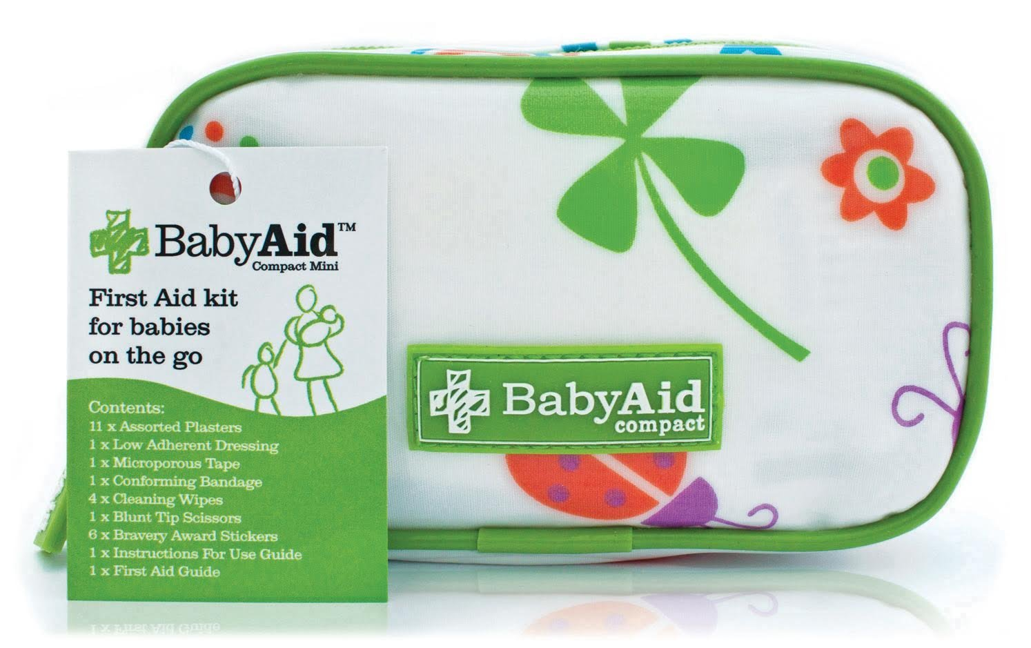 Baby Aid Compact Mini - The Original and Best Travel First Aid Kit for  kids, toddlers, and babies - Perfect for on the go Mums: Amazon.co.uk: Baby