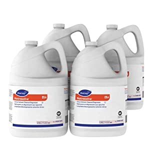 Diversey J-Works 95881695 TM/MC Natrasolve Citrus Solvent Cleaner/Degreaser, 4 x 1 gal/3.78 L Containers (Pack of 4)