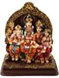 SUNNY CORPS™ Shiv Parvati Ganesha Shiv PARIVAR Gift Statue Idol Showpiece Sculpture Murti LxHxW(cm) = 13x15x7.5
