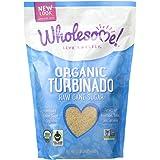 Wholesome Sweeteners Organic Turbinado Raw Cane Sugar, 24 Ounce