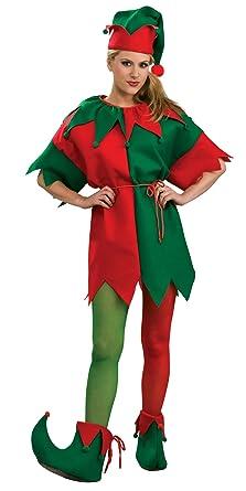 Amazon.com: Mallas elfo para mujer Adulto Costume – Pequeño ...