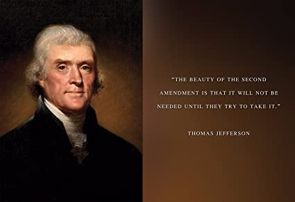 Amazon.com: Thomas Jefferson Photo Picture Poster Framed Quote