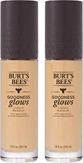product image for Burts Bees Goodness Glows Liquid Makeup, Buff - 1.0 Ounce (Pack of 2)