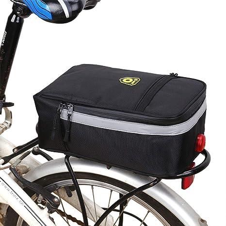 UICICI Bolsa de sillín de Bicicleta MTB a Prueba de Lluvia ...