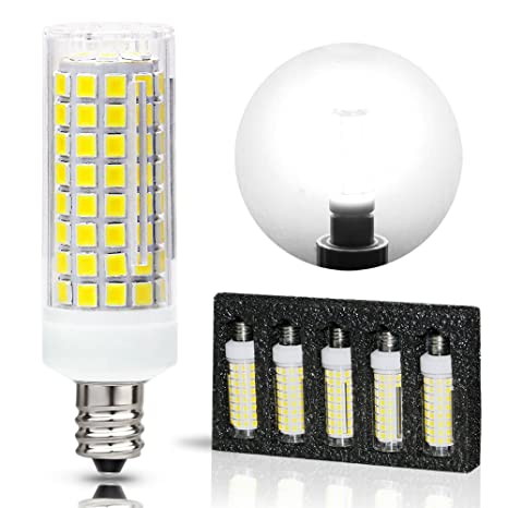 Amazon.com: Bombillas LED G9, 8 W, 75 W, 100 W, equivalentes ...
