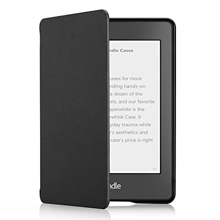 OMOTON Kindle Paperwhite Case (10th Generation-2018) 2 Pack, Smart Shell Cover with Auto Sleep Wake Feature for Kindle Paperwhite 10th Gen 2018 ...