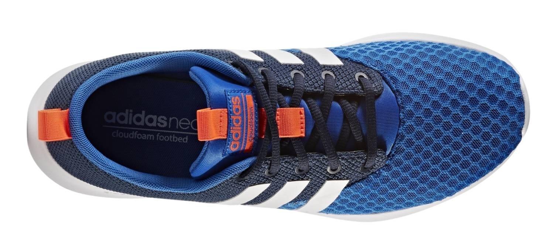 24d4fbe80a920 adidas Men s Trainers Cloud Foam Swift Racer LMT Blue White Orange   Amazon.co.uk  Sports   Outdoors