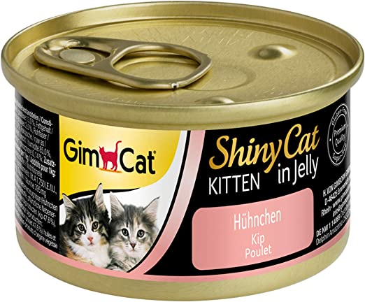 GimCat ShinyCat in Jelly Kitten – Comida para gatos: con trocitos ...