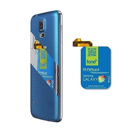Amazon.com: S5 pwrcard – QI Wireless Receptor de tarjeta ...