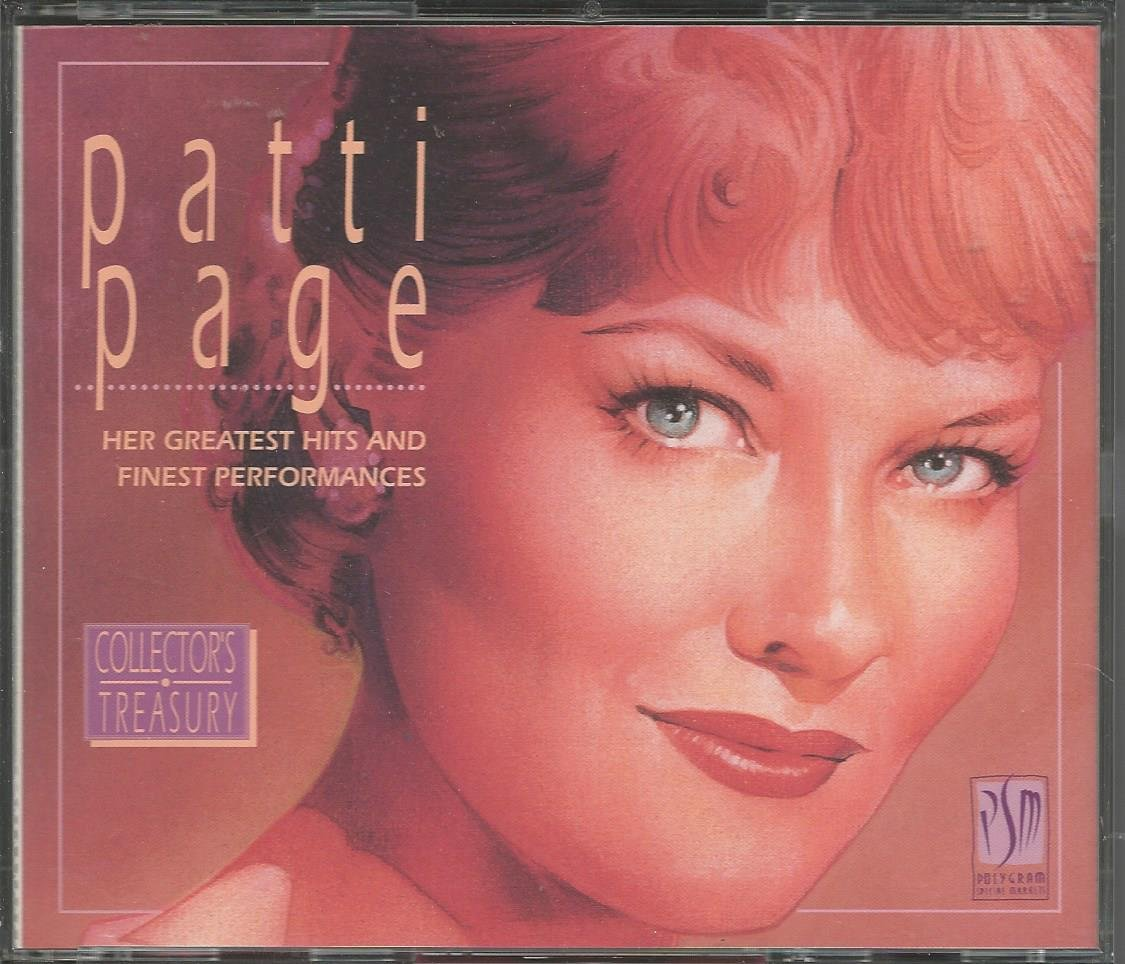 Patti Page Her Greatest Hits and Finest Performances Reader's Digest  Music