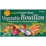 Marigold Organic Swiss Yeast Free Vegetable Bouillon Cubes (8x10.5g) Green マリーゴールド有機スイス酵母無料の野菜ブイヨンキューブ( 8X10.5G )緑