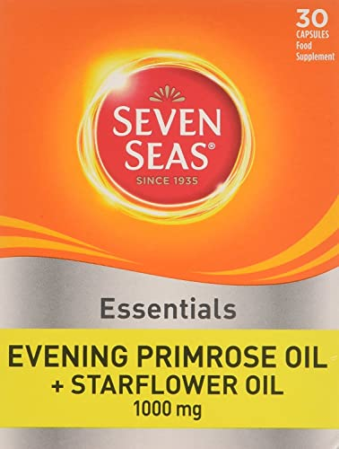 Seven Seas Evening Primrose Once A Day Plus Starflower Oil 1000mg 30 Capsules