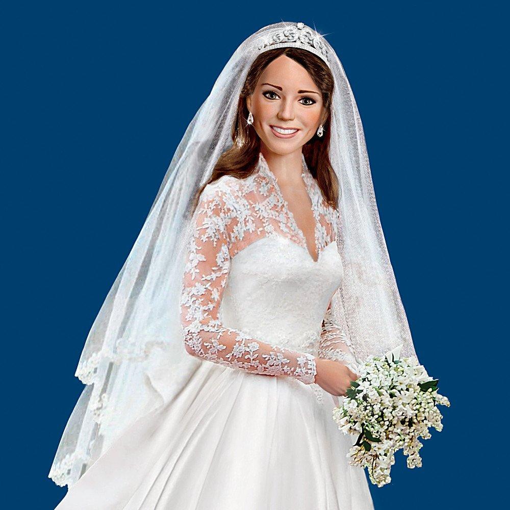 Amazon.com: Kate Middleton Bride Doll   Princess Catherine Wedding ...