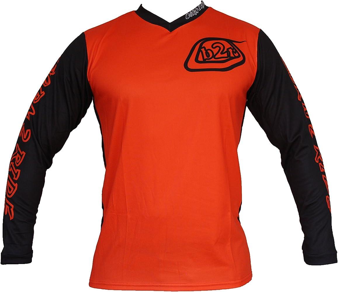 Born2Ride Camiseta de bicicleta de montaña, motocross, MTB, color ...