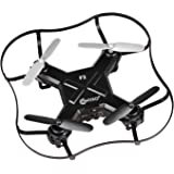 Contixo F2 Mini Pocket Drone 4CH 6 Axis Gyro RC Micro Quadcopter with 3D Flip, Intelligent Fixed Altitude (Black) - Best Gift