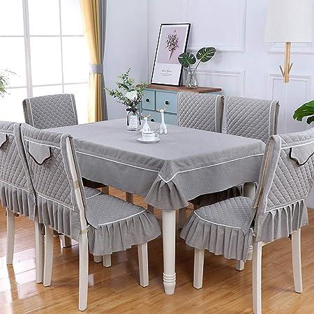 Table cloth :-) Algodón Moderno y Lino Mantel de Color sólido ...