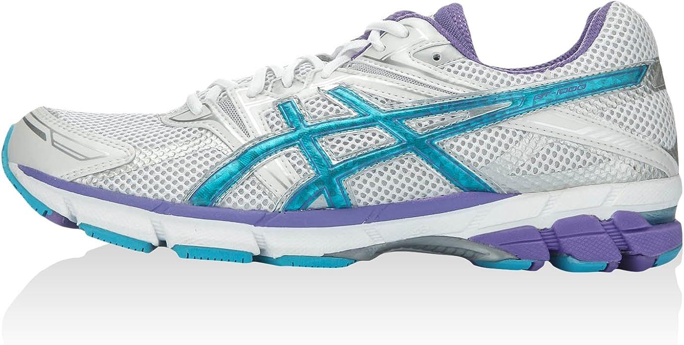 Asics Gt-1000, Zapatillas de Running para Mujer, Blanco, 44 EU: Amazon.es: Zapatos y complementos
