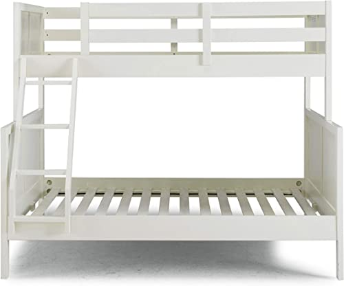 Home Styles Naples White Twin Over Full Bunk Bed